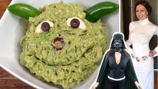 Yoda Guacamole Recipe - How To Make Star Wars Party Dip