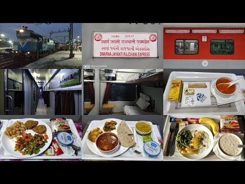 New Delhi To Ahmedabad : Full Journey : First Class AC 12958
