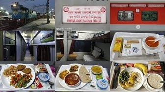 New Delhi To Ahmedabad : Full Journey : First Class AC 12958 Swarna Jayanti Rajdhani Express