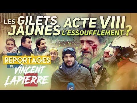 LES GILETS JAUNES : L'ESSOUFFLEMENT ? ACTE VIII – Les Reportages de Vincent Lapierre