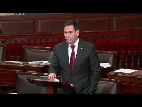 Rubio Speaks on Senate Floor, urging Florida officials to pardon the Groveland Four