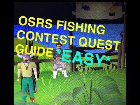 Fishing contest osrs
