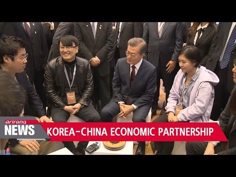 President Moon calls for stronger Seoul-Beijing economic partnership