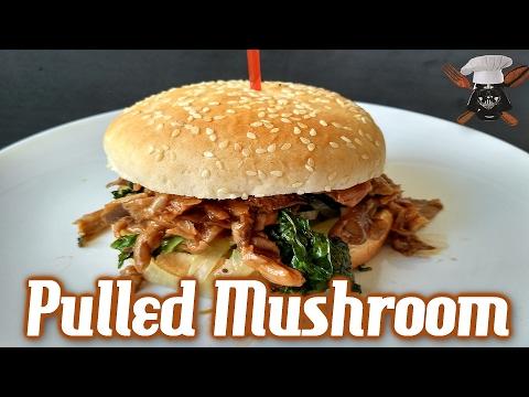 Pulled mushroom | Con aceite y sal