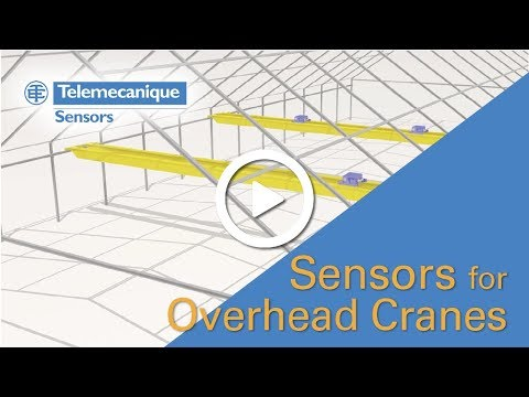 Telemecanique Sensors for Overhead Cranes