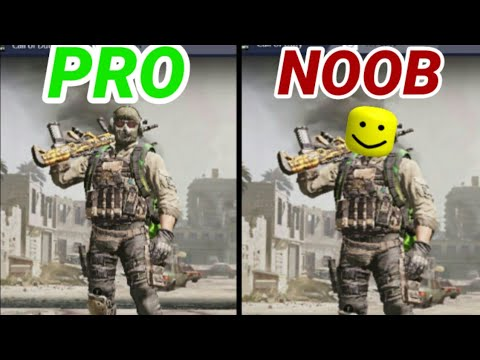 CALL OF DUTY MOBILE NOOB VS PRO