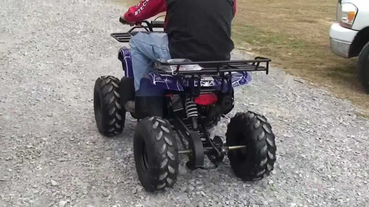 Coolster 3125XR-8 125cc Test Ride (Blaze Powersports and Outdoors, Duson,  LA)