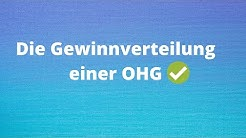 Gewinnverteilung einer OHG