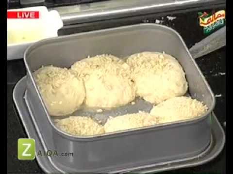 Butter Spring Onion Rice, Chicken Fajita And Peanut Butter Bun by Rida Aftab   Zaiqa