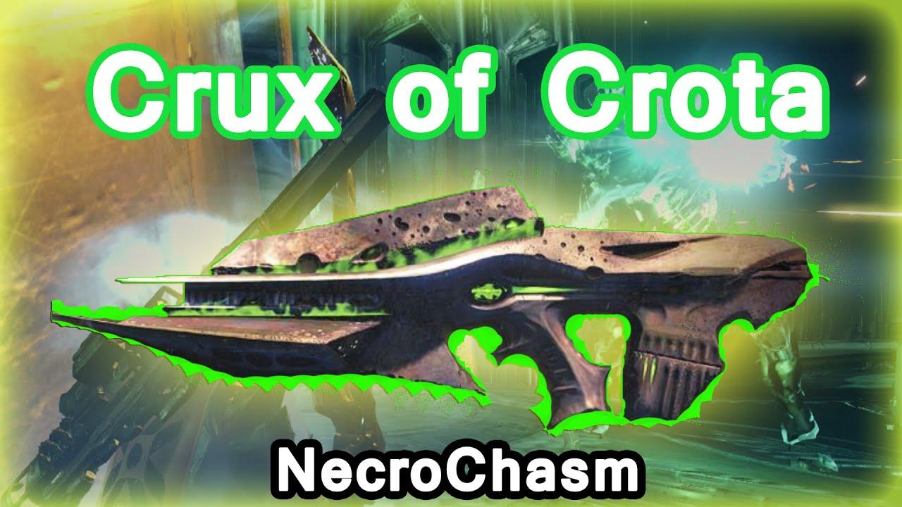 Destiny crux of crota necrochasm gameplay youtube