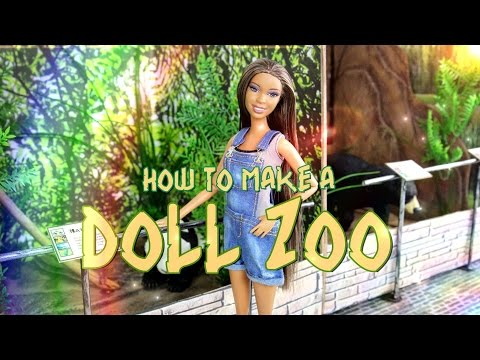 How to Make a Doll Zoo - Doll Crafts