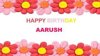 Aarush   Birthday Postcards & Postales - Happy Birthday
