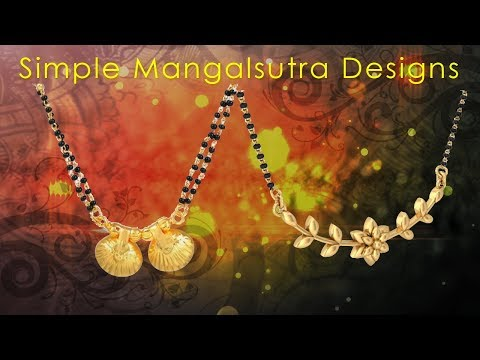 Simple Mangalsutra Designs: 10 Designs That You Must Watch