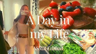 ASMR | A Day in my Life (Workout, Makeup Routine) (Whispered Voice-Over)