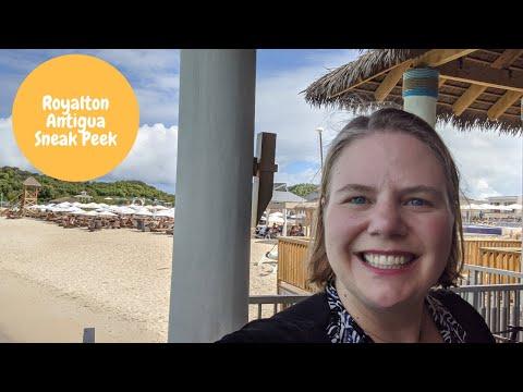 Royalton Antigua Resort Tour  2020 - Antigua family all inclusive resort with overwater bungalows