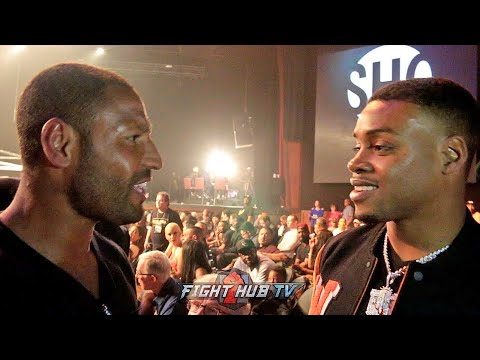 ERROL SPENCE & KELL BROOK GO AT IT IN VEGAS OVER REMATCH!
