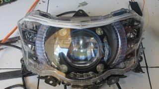 Yamaha XEON GT Eagle Eyes Projector Fortuner VRZ Shroud Panamera