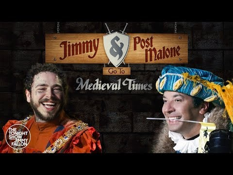 Hoody - Post Malone & Jimmy Fallon Visited Medieval Times Together!