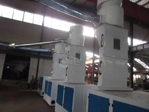 Cotton cloth , yarn waste recycling machine