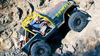 homepage tile video photo for Dirt Every Day FULL EPISODE | Junkyard Jeep Gets 40-Inch Tires and 1-Ton Axles—Episode 85