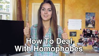 How To Deal With Homophobes