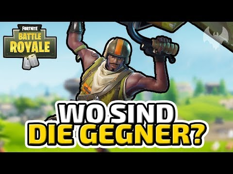 Wo sind die Gegner? - ♠ Fortnite Battle Royale ♠ - Deutsch German - Dhalucard