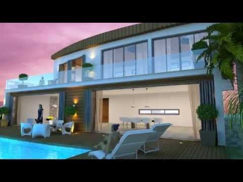 WATERFRONT VILLA FOR SALE  IN AYIA NAPA - CYPRUS