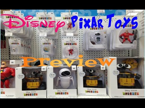 Disney Pixar Toy Hunting Preview The Incredibles, Wall-E, Finding Nemo