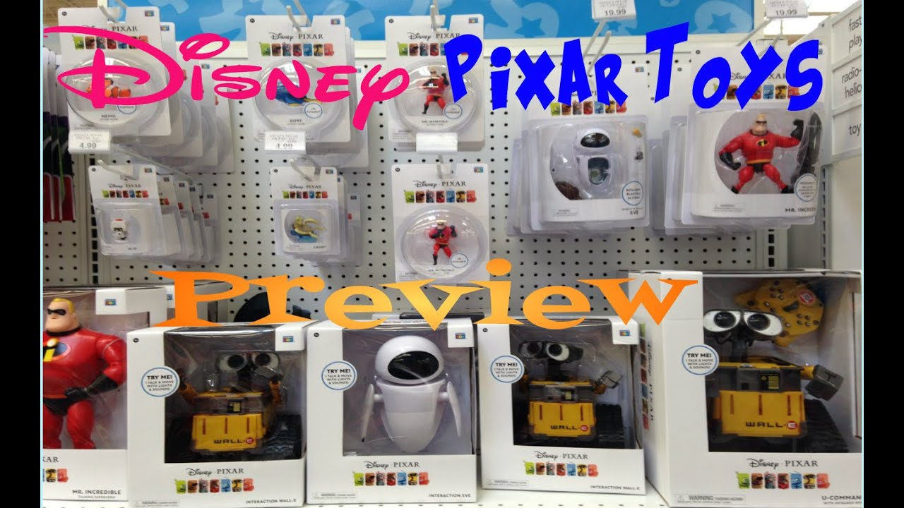 The Incredibles Toys R Us : Disney pixar toy hunting preview the incredibles wall e
