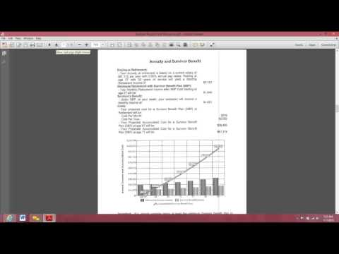 Session #2 Federal Benefits Analysis Presentation Instant meeting 2013 11 01