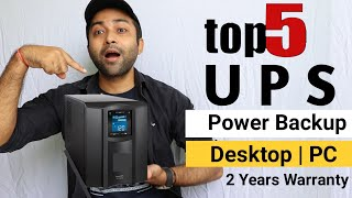 Best UPS for PC | Top 5 Best UPS for PC,Computer,Home,Gaming pc,Laptop,Desktop computer,Wifi router