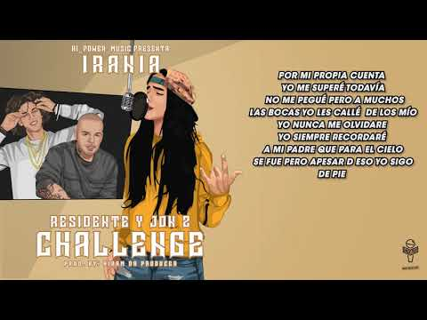 Irania – Residente Y JonZ Challenge (Official Video Lyric)