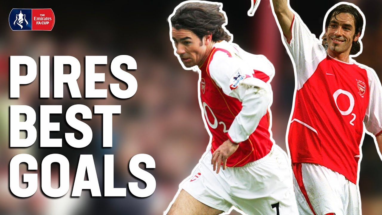 Robert Pires: Best FA Cup Goals! | Two-Time FA Cup Winner with Arsenal | Emirates FA Cup
