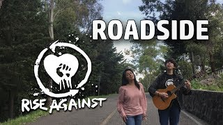 ROADSIDE - Rise Against (ACOUSTIC COVER) Music Video ON AN ACTUAL ROADSIDE