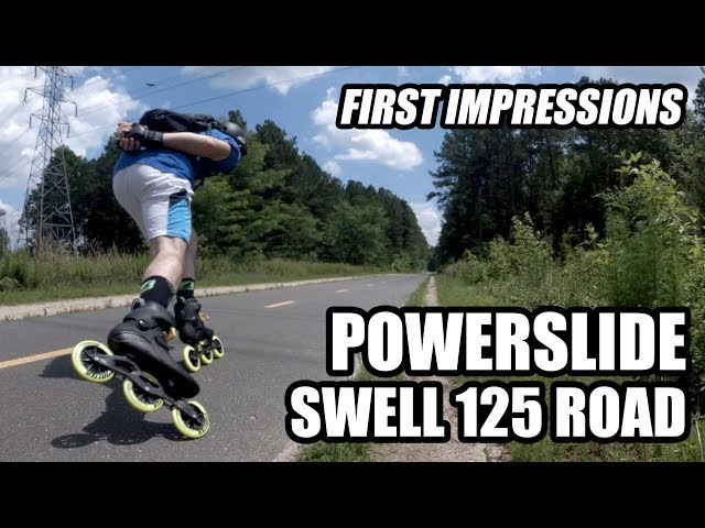 Powerslide Swell 125 Road Inline Skate - FIRST IMPRESSIONS