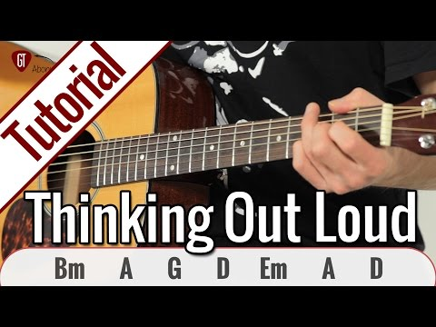 Ed Sheeran - Thinking Out Loud | Gitarren Tutorial Deutsch
