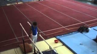 спортивная гимнастика 2 разряд Брусья