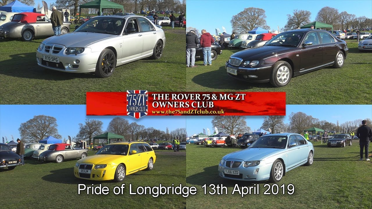 The Rover 75 Mg Zt Owners Club Pride Of Longbridge 2019 Youtube