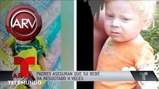 Padres aseguran que su bebé se murió y resucitó cuatro veces | Al Rojo Vivo | Telemundo