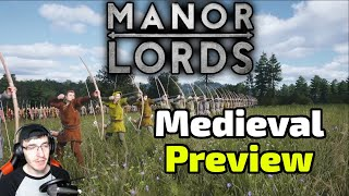 Manor Lords Preview - Medieval City Building With Real Time Battles
