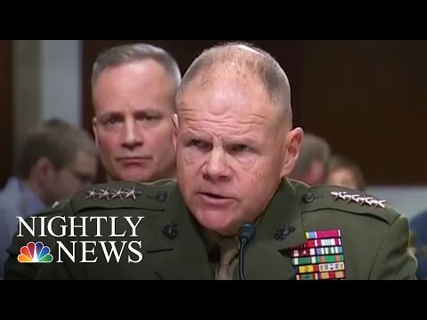 Senators Grill Marine Corps Commandant Over Nude Photo Scandal | NBC Nightly News