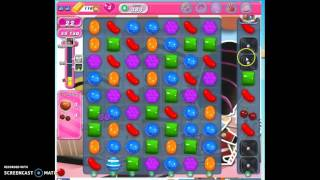 Candy Crush Level 383 w/audio tips, hints, tricks