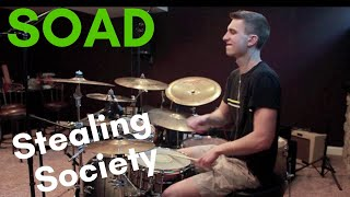 System Of A Down   Stealing Society   Drum Cover