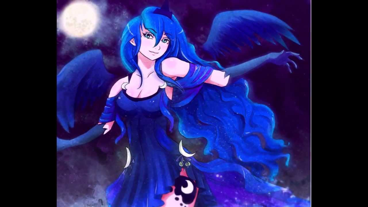 Human Princess Luna Tribute - YouTube