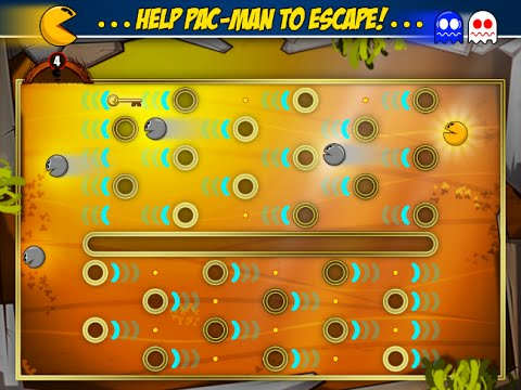 PACMAN Friends Game Gameplay Review IOS Ipad / Iphone / Ipod / Android