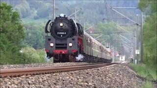 01 0509-8 fährt auf den Spuren des E 802 / E 805 von Sonneberg nach Leipzig, 18.05.2019
