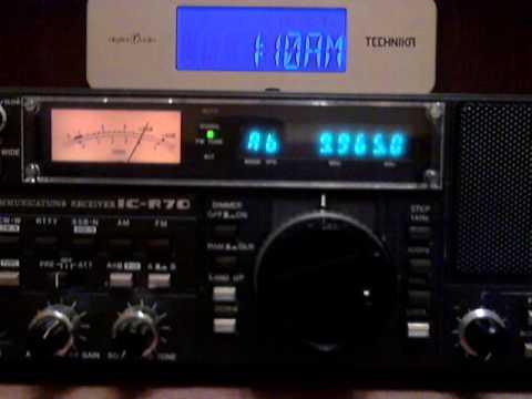 Radio Cairo on 9965 KHz