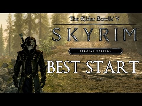 Skyrim Special Edition How To Get The Best Start (First Companion, Tips , Secrets, Tricks...) from YouTube · Duration:  14 minutes 34 seconds