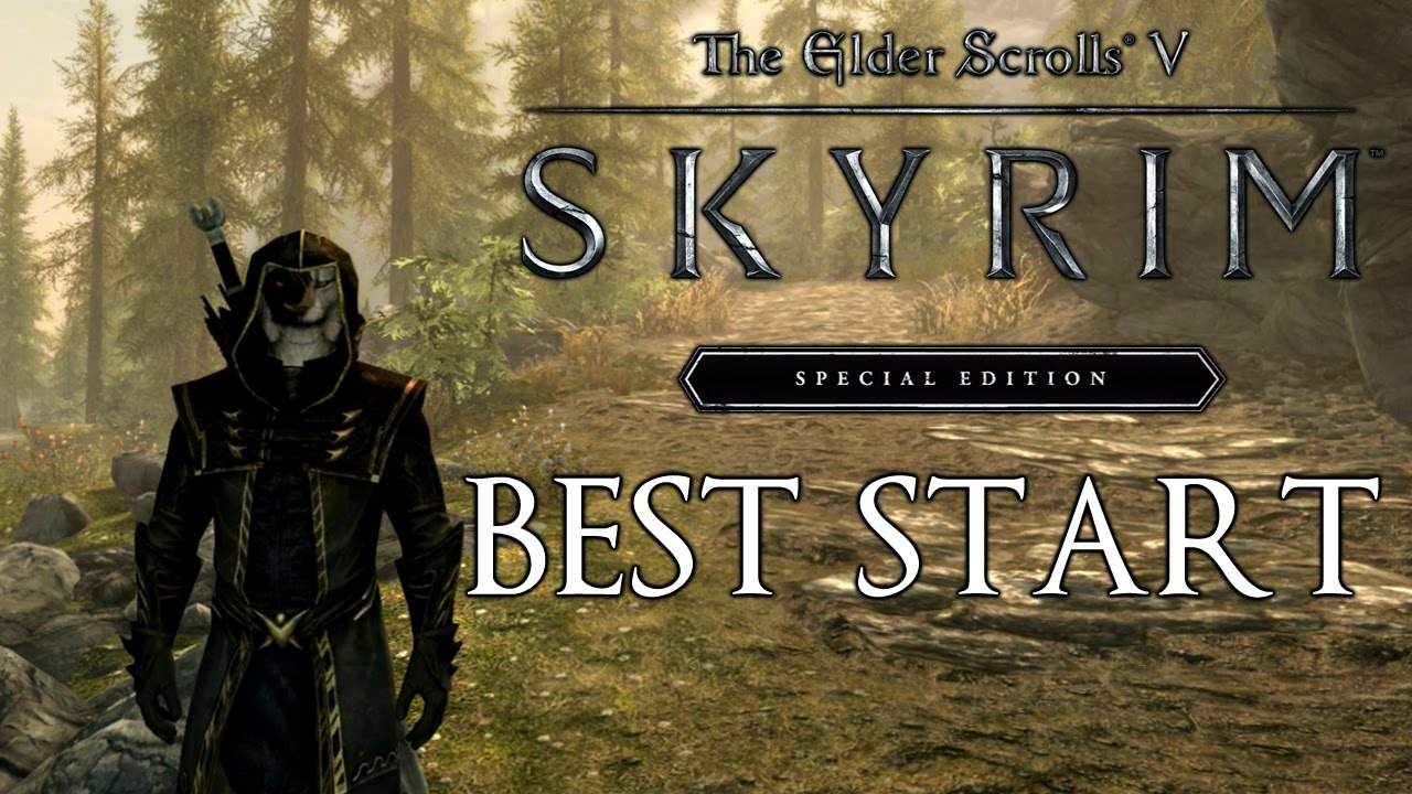 Skyrim Special Edition How To Get The Best Start (First Companion ... 8ac6d8e721