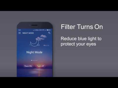 Blue Light Filter-Night Mode, Screen Dimmer Ekran Görüntüsü